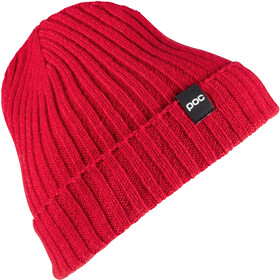 POC Ribbed Knit Beanie Glucose Red